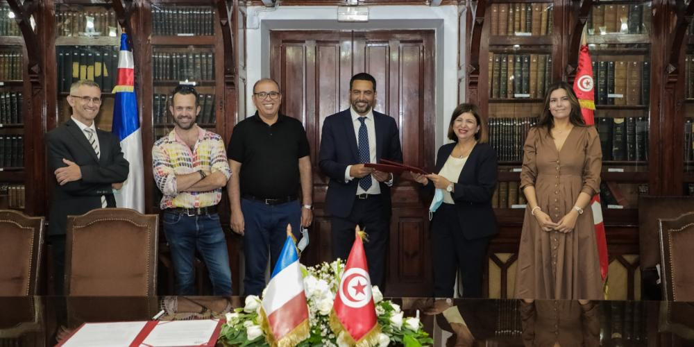 On the occasion of the High Council for Franco-Tunisian Cooperation, two international joint laboratory agreements (LMI) were signed
