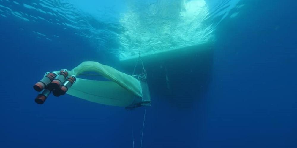 ANR Contampump : prélevements en mer