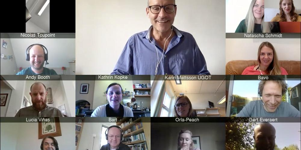Kick off du Virtuel meeting du projet européen du JPI-Ocean ANDROMEDA