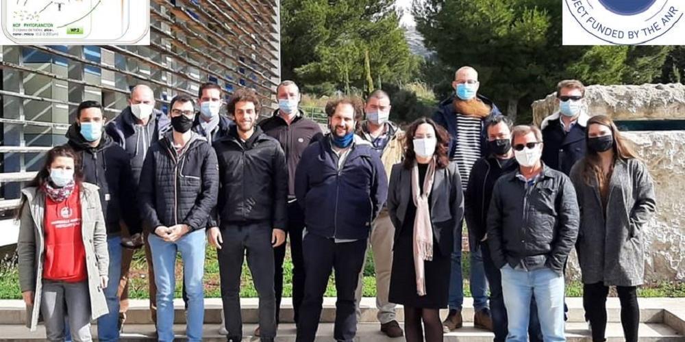"""2ème réunion scientifique du projet ANR JCJC CONTAMPUMP """"Le plancton: pompe biologique de contaminants dans les écosystèmes marins?"""" organisée au MIO"""