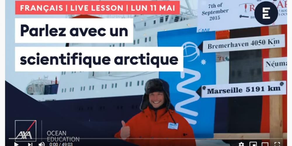 Parler avec un scientifique arctique !