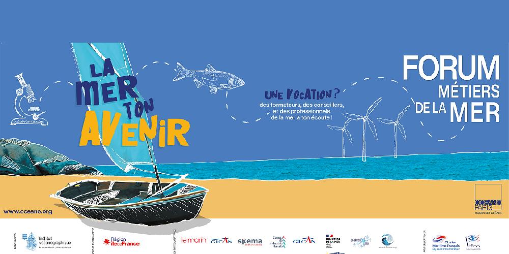Les métiers de la mer, un avenir possible ! Forum des métiers