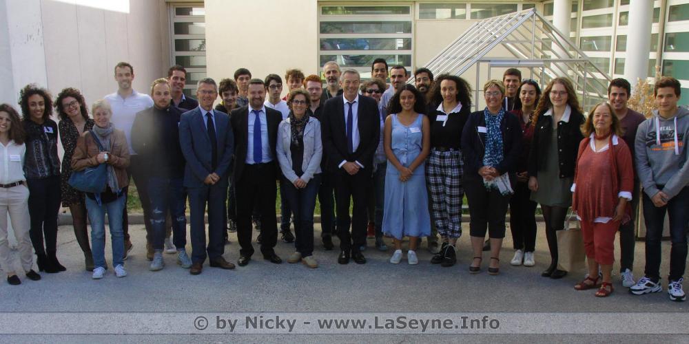 """The """"10 years of the Drisses de la Réussite"""" at the Lycée Beaussier (La Seyne-sur-Mer) with the MIO"""