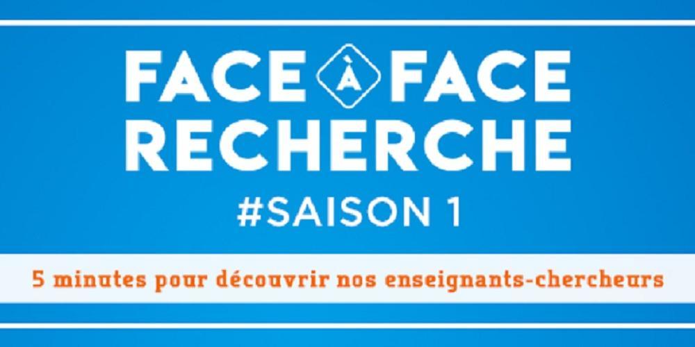 """""""Face à Face Recherche"""" with the portrait of Nathalie Prévot-D'Alvise, MIO-EMBIO"""