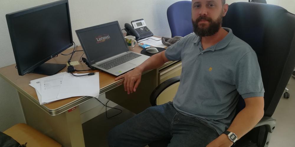 Paulo Duarte, Professeur brésilien invité au MIO