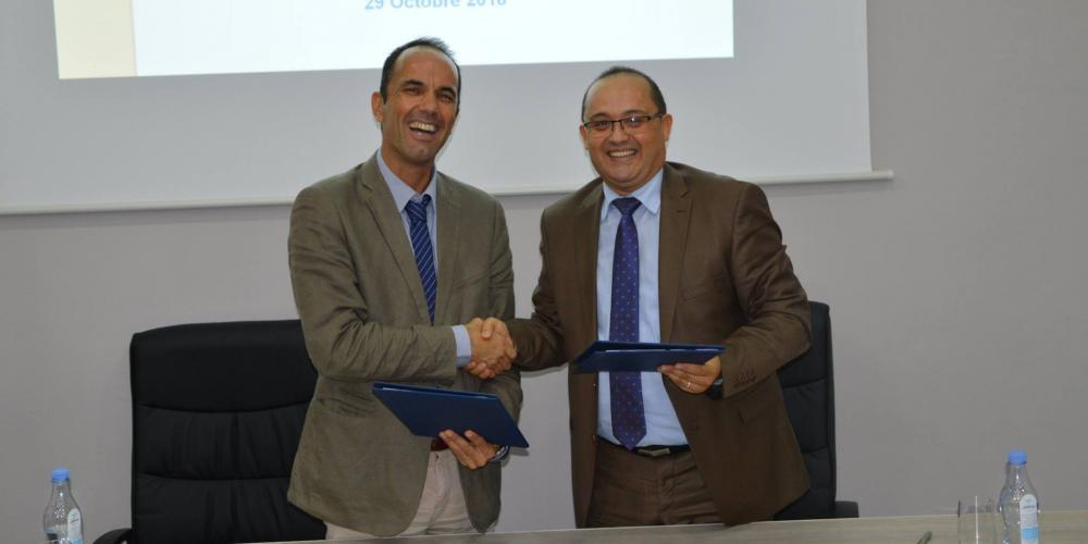 Signature d'une convention de collaboration de recherche entre l'IRD et l'ISSBAT