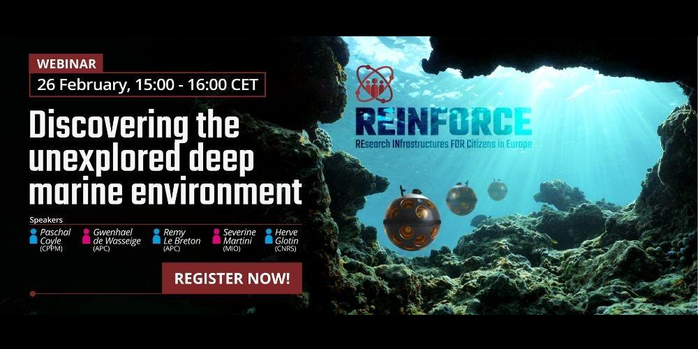 Webinar - Discovering the unexplored deep marine environment