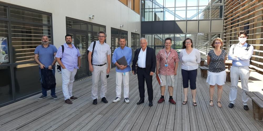 Visite au MIO de François Houllier, PDG d'IFREMER et d'une délégation IFREMER