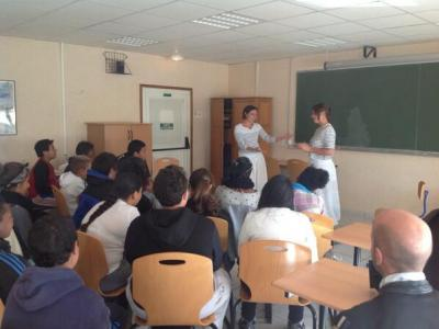 The story of Gyptis and Protis with the storytellers of Champs Libres !