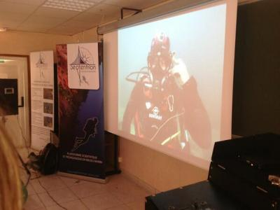 Experience a dive on the artificial reefs of the Prado on board with Septentrion Environnement