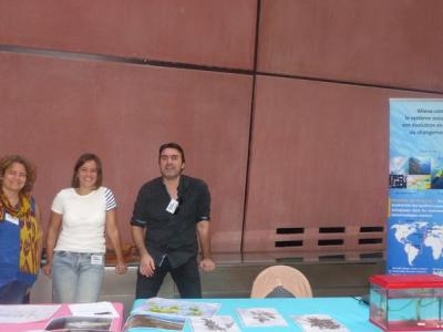 The IRD Communication Team at the Sargasso Stand