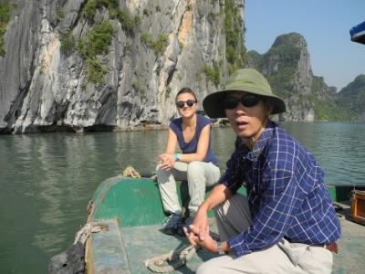Notre partenaire vietnamien Thuoc Van Chu, spécialiste en écologie du phytoplankton dans les côtes vietnamiennes.