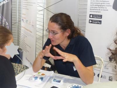 Caroline - Pédagogie sur le plancton !