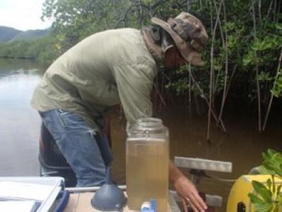 Prélèvement fleuve