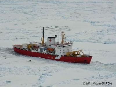 The CCGS Amundsen
